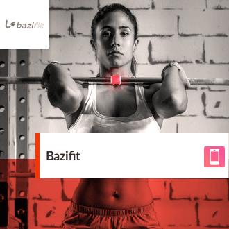 bazifit mobile app per iOS