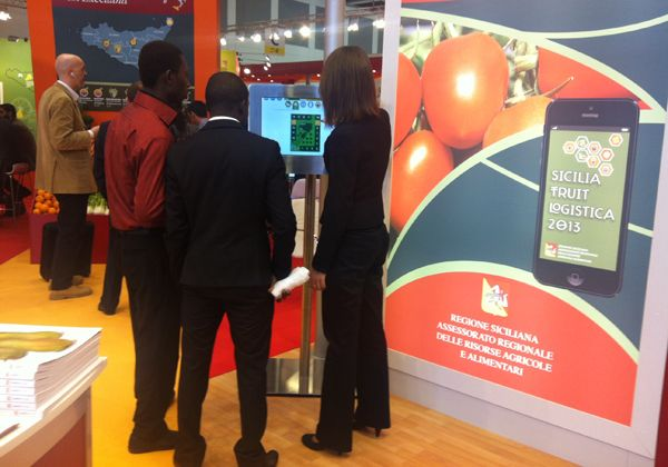 touch interfaces per sicilia fruitlogistica 2013