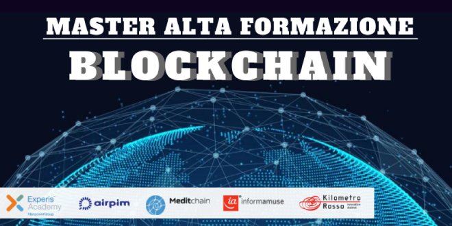 Our presence at Blockchain Master directed by Professor Roberto Garavaglia