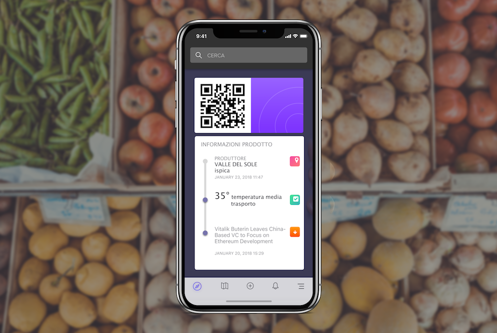 qr code to trace the supply chain