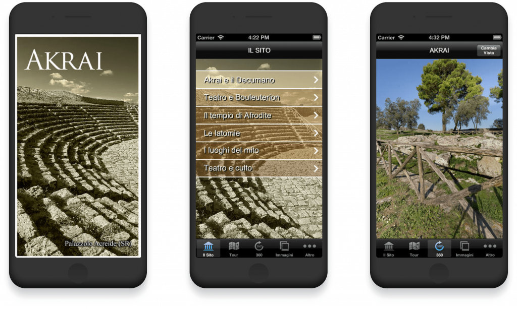 theatre of Syracuse mobile app